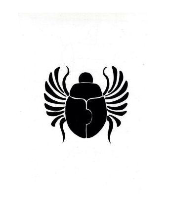 Egyptian beetle